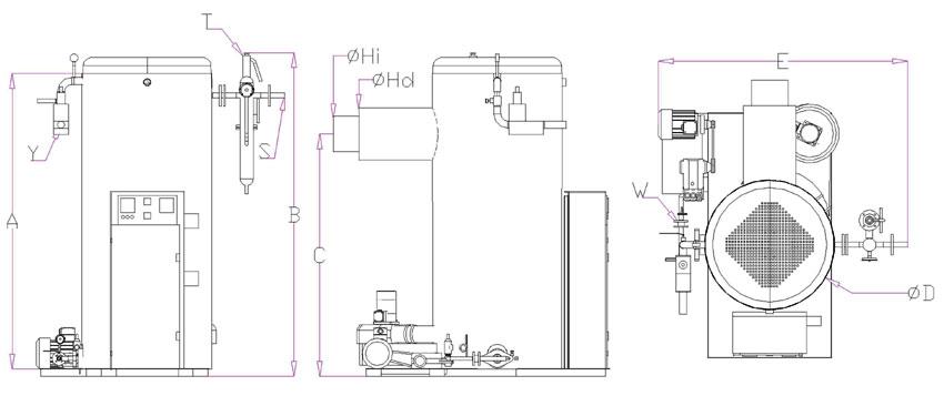 Вертикальные парогенераторы Alba D - Фото №17