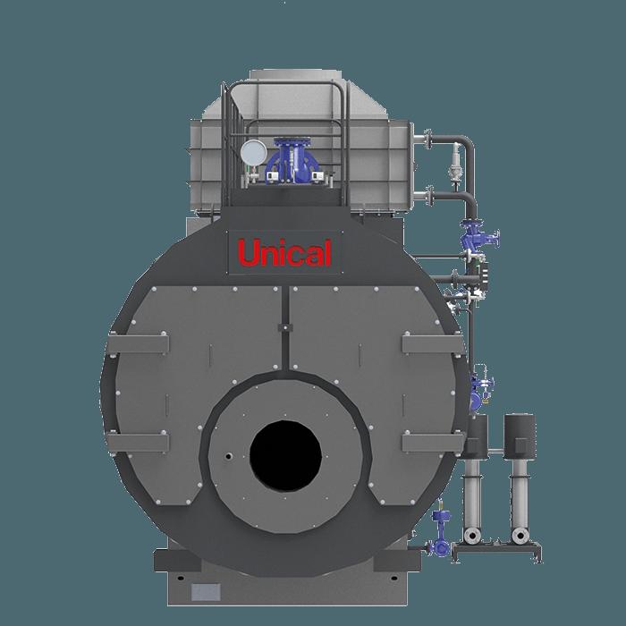 TRYPASS Unical трехходовой паровой котел высокого давления - Фото №17