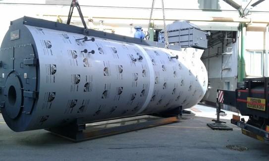 TRYPASS Unical трехходовой паровой котел высокого давления - Фото №22