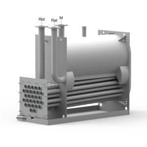 XCK конденсационный котел сдвумя обратками Unical
