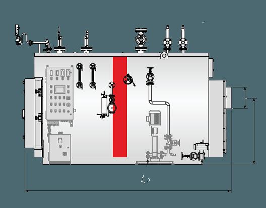BAHR'3G Unical трехходовой паровий котел высокого давления - Фото №19