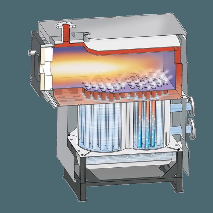 Конденсационный котел с нержавеющей стали
