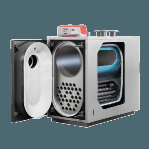 XCK-oil конденсационный дизельный котел Unical