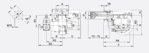 Размеры газовой горелки FBR XP