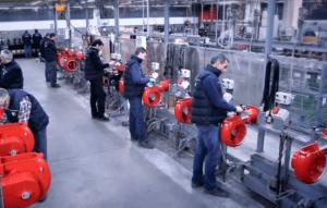 Промышленные газовые горелки FBR BRUCIATORI Италия