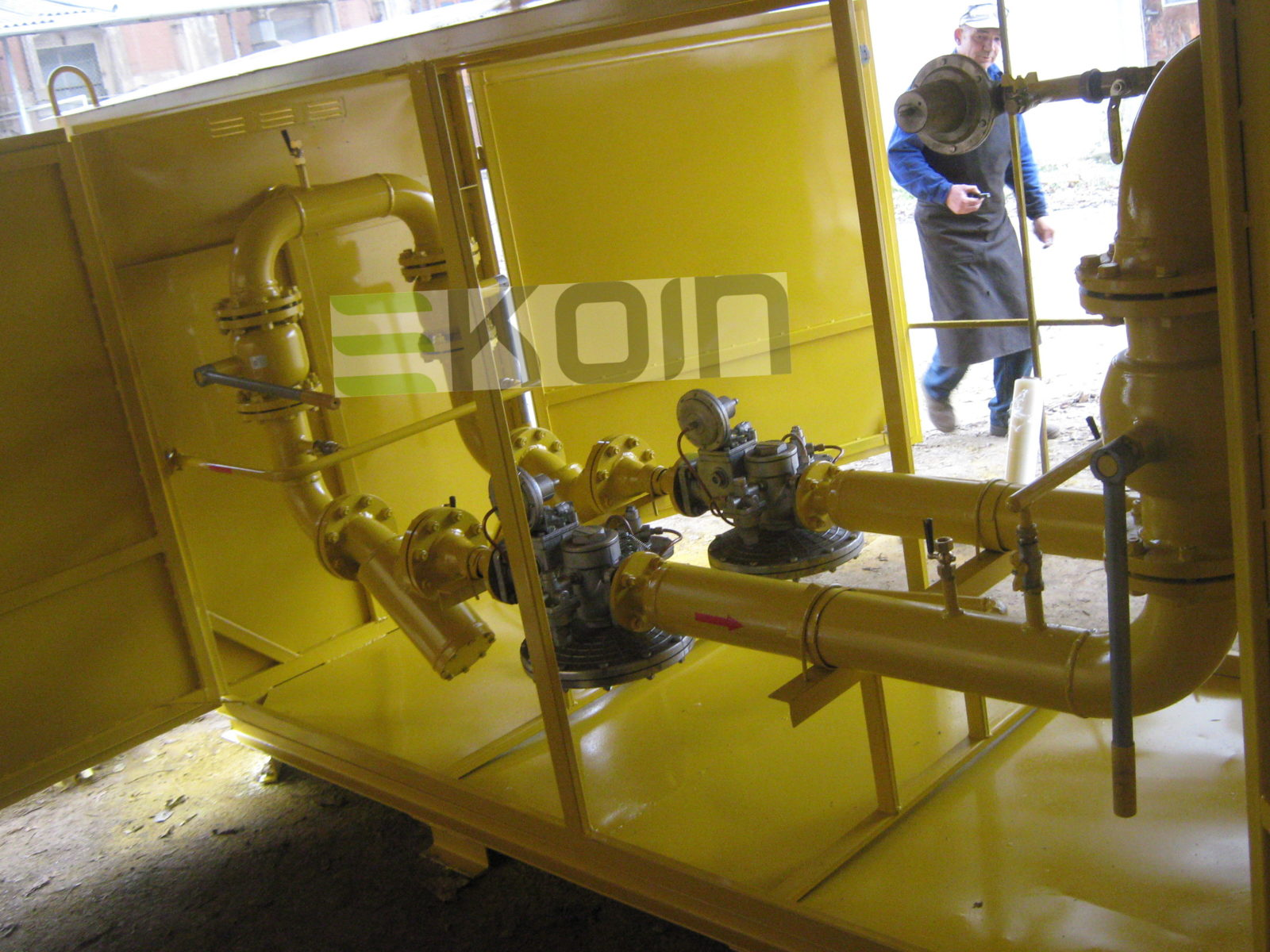 ГРПШ - газорегуляторная установка