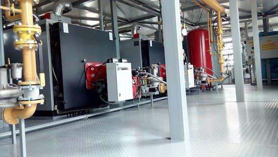 Газовая котельная с котлами Ellprex Unical