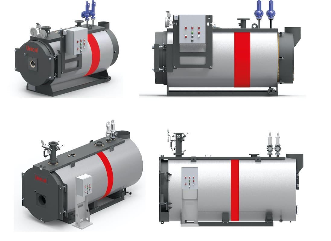 котлы на перегретой воде unical промышленные газовые жидкотопливные