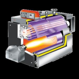 Схема работы газового котла ellprex Unical