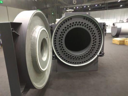 Промышленный трёхходовой газовый котел Ternox 2s Unical