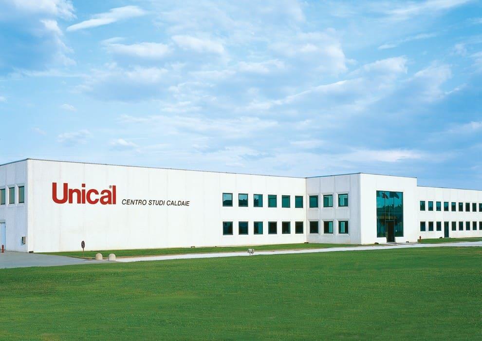 Завод Unical в Каорсо Италия
